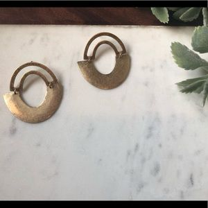 The Campbell - Vintage Geometric Crescent